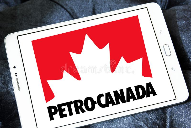 Petro Canada-bedrijfembleem stock fotografie