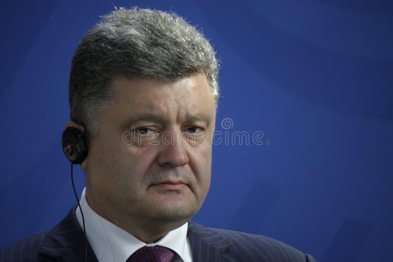 Petro Poroshenko immagini stock