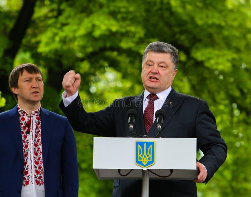 Petro Poroshenko obraz royalty free