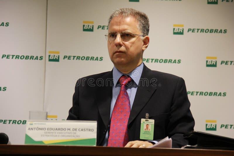Petrobras anuncia o modelo novo da governança e de gestão imagem de stock royalty free