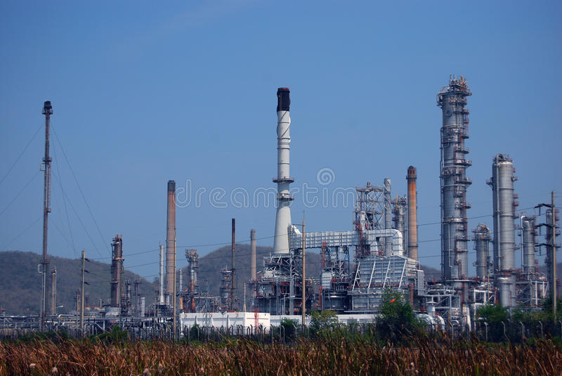 petrochemical индустрии стоковое фото rf