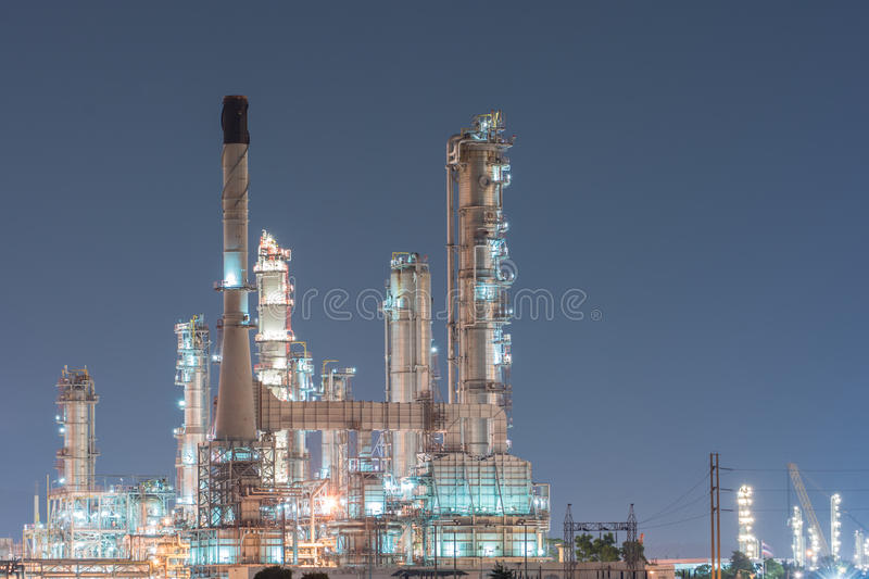 Download Petrochemical Industrial Plant Power Station Stock Photo - Image of piping, gasoline: 45911660