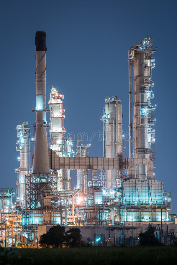 Download Petrochemical Industrial Plant Power Station Stock Photo - Image of piping, engineering: 46013530