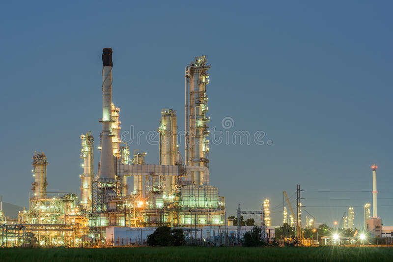 Download Petrochemical Industrial Plant Power Station Stock Image - Image of environment, environmental: 46863677