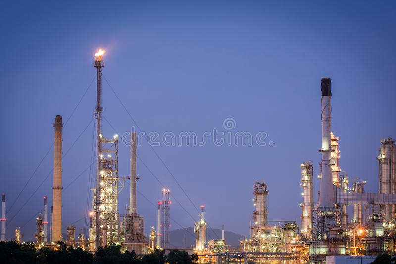 Download Petrochemical Industrial Plant Power Station Stock Image - Image of distill, industrial: 46863723