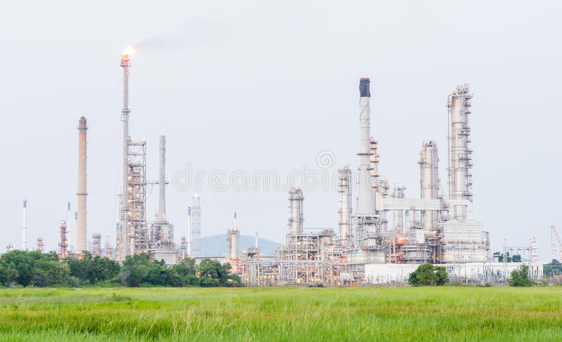 Download Petrochemical Industrial Plant Power Station Stock Image - Image of fuel, distillation: 45871183