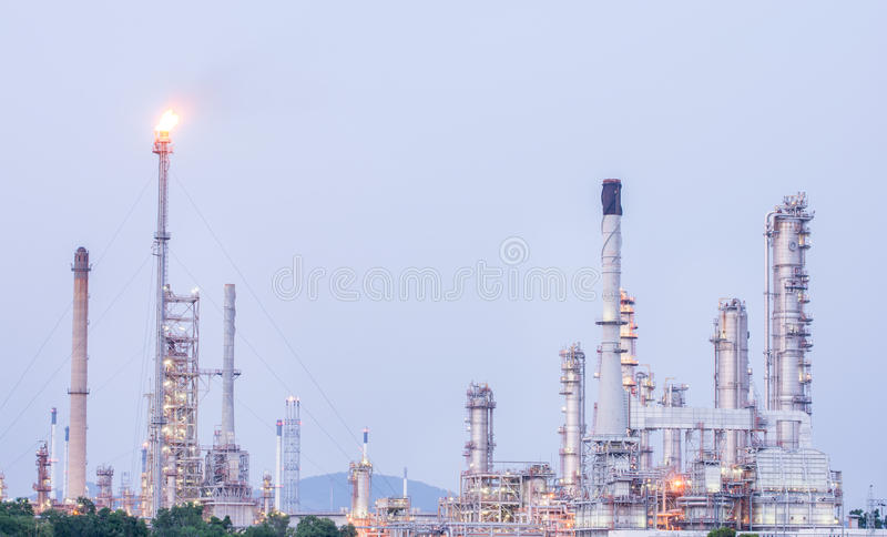 Download Petrochemical Industrial Plant Power Station Stock Photo - Image of engineering, piping: 46013536