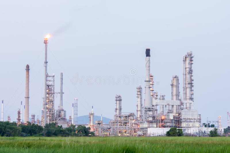 Download Petrochemical Industrial Plant Power Station Stock Photo - Image of engineering, greenhouse: 55358780