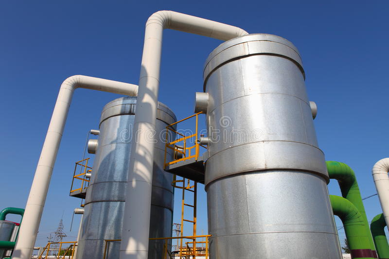 Download Petrochemical industry stock photo. Image of machinery - 28759564
