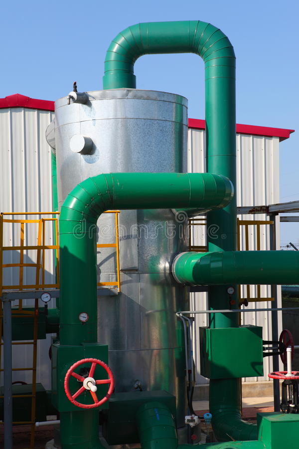 Download Petrochemical industry stock image. Image of process - 28759575