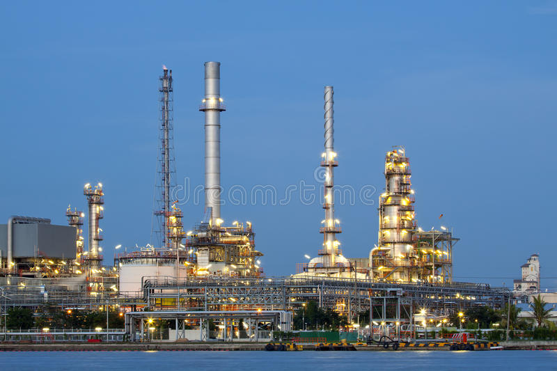 Download Petrochemical Oil Refinery Factory Stock Photo - Image of chimney, petrochemical: 26940854