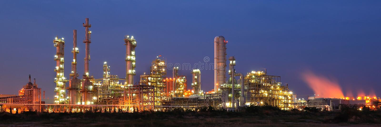 Download Petrochemical plant stock image. Image of catalytic, chimney - 19298295