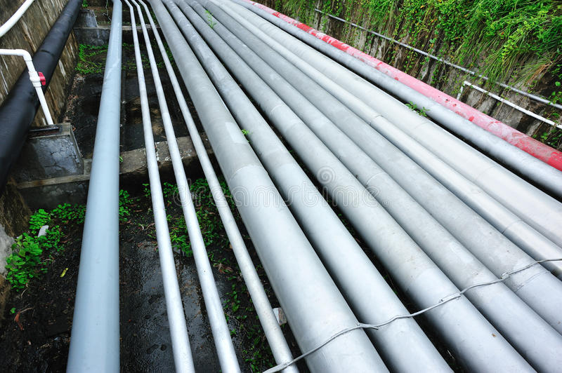 Petrol pipelines royalty free stock photo