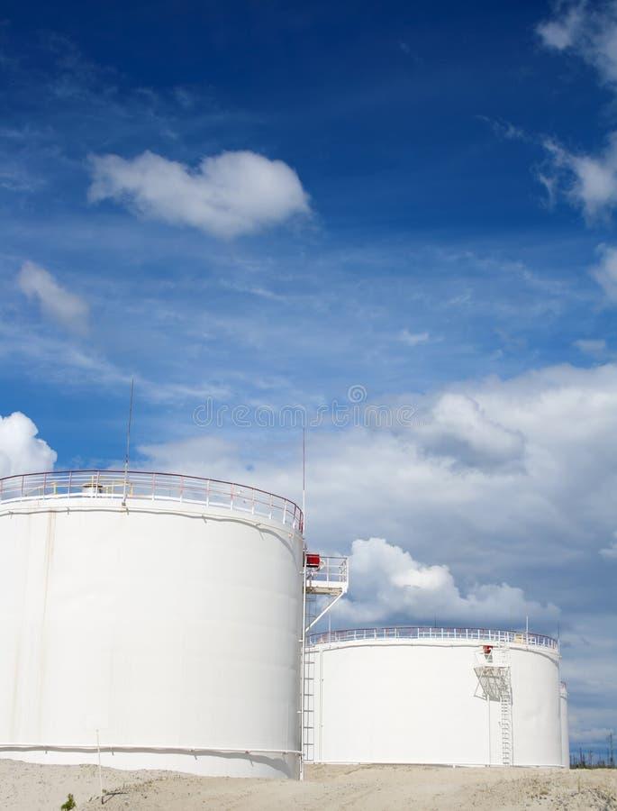 Petrochemische Industrie stockfotografie