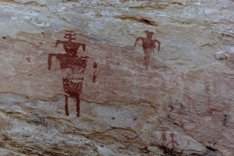 Petroglifo de Anasazi foto de archivo