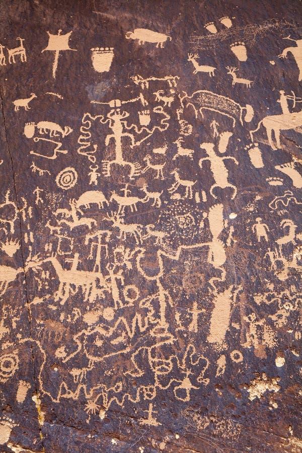 Petroglifos fotografía de archivo libre de regalías