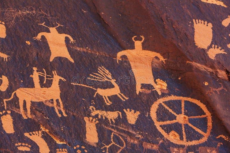 petroglyph stockfotografie