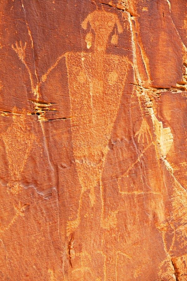 petroglyph lizenzfreie stockfotografie
