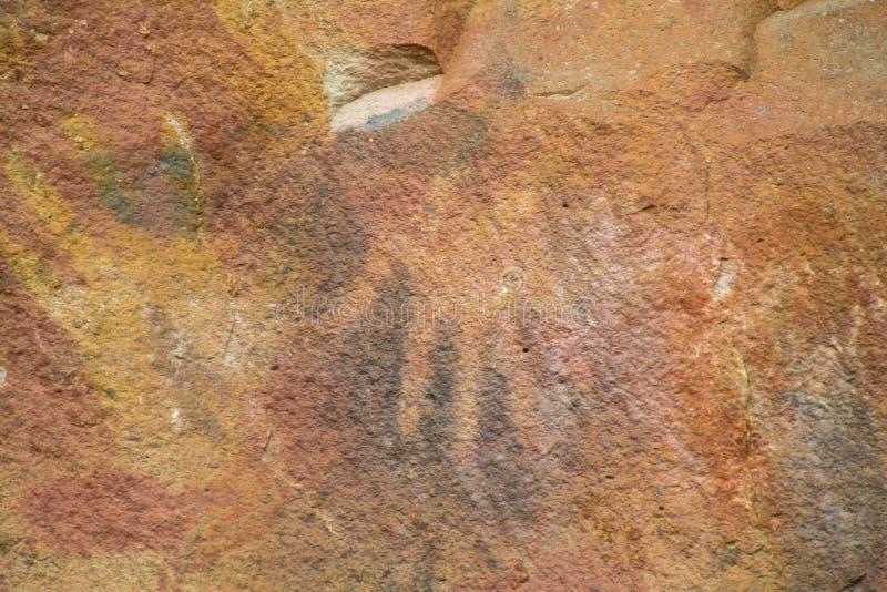 petroglyph stockfoto