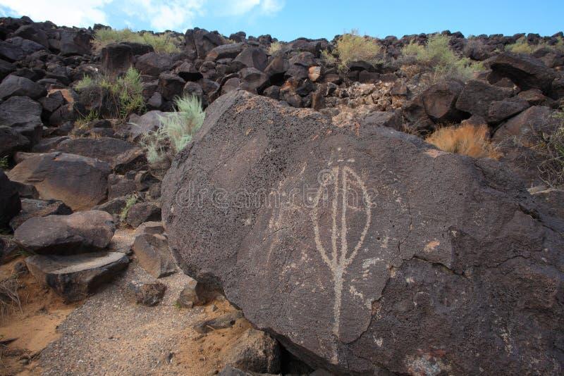Petroglyphe 2 lizenzfreie stockfotografie