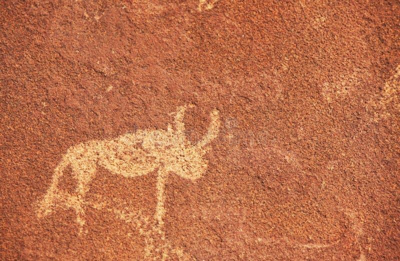 Petroglyphebeschaffenheit lizenzfreie stockfotos