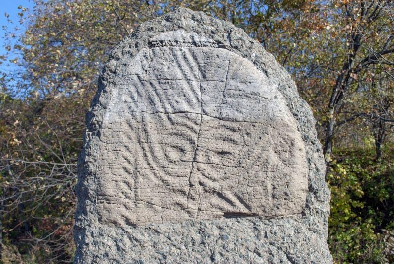 Petroglyphs στους βράχους στοκ φωτογραφία με δικαίωμα ελεύθερης χρήσης
