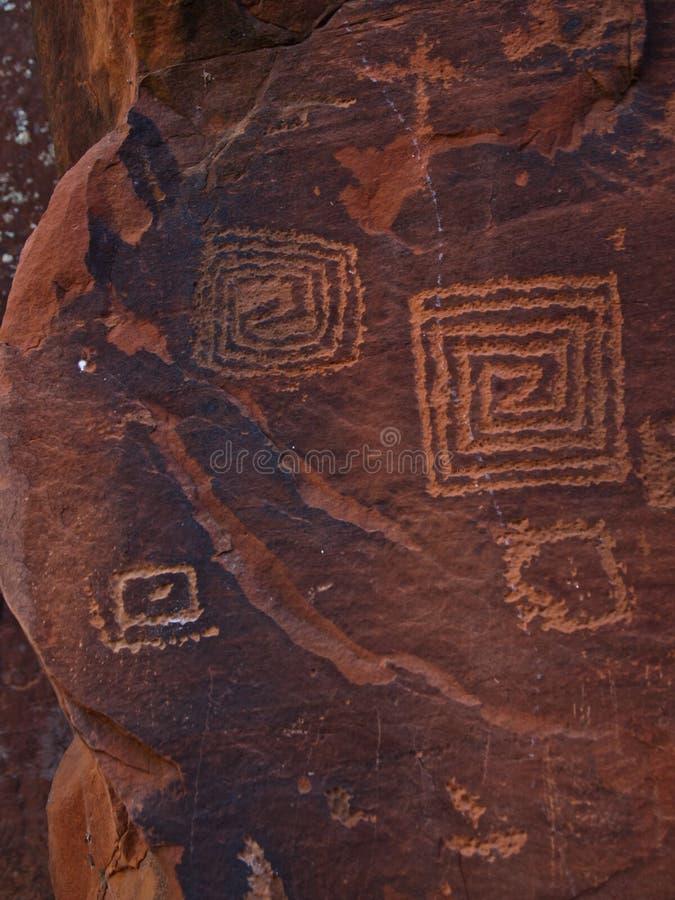 Free Petroglyphs At Wet Beaver Creek, Arizona Royalty Free Stock Image - 100536096
