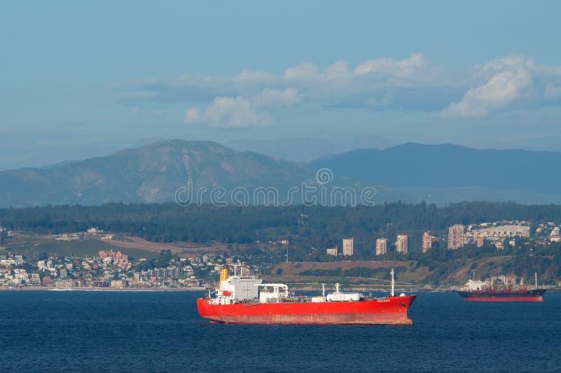 Petroleiro do LPG - gás de petróleo liquefeito imagem de stock royalty free