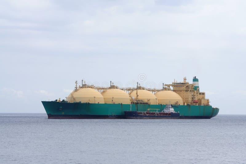 Petrolero del gas foto de archivo libre de regalías