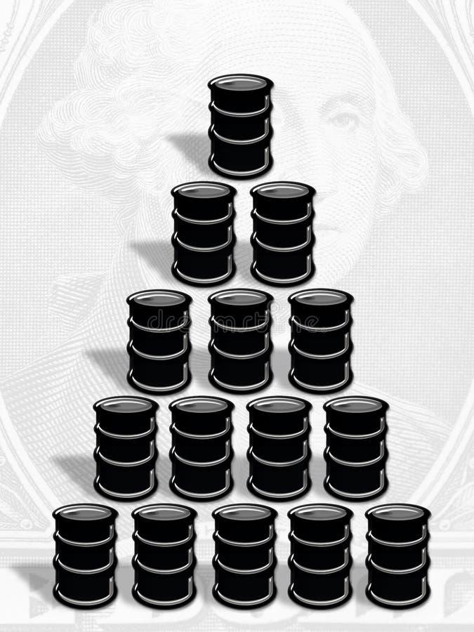 Download Petroleum stock illustration. Image of drum, steel, dollar - 24327680