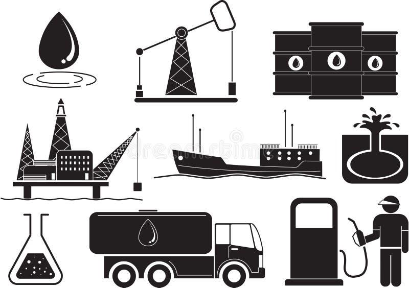 petroleum ilustracji