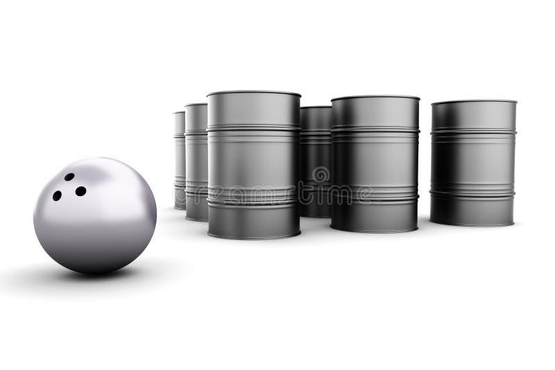 Download Petroleum Bowling stock illustration. Illustration of petroleum - 21256647