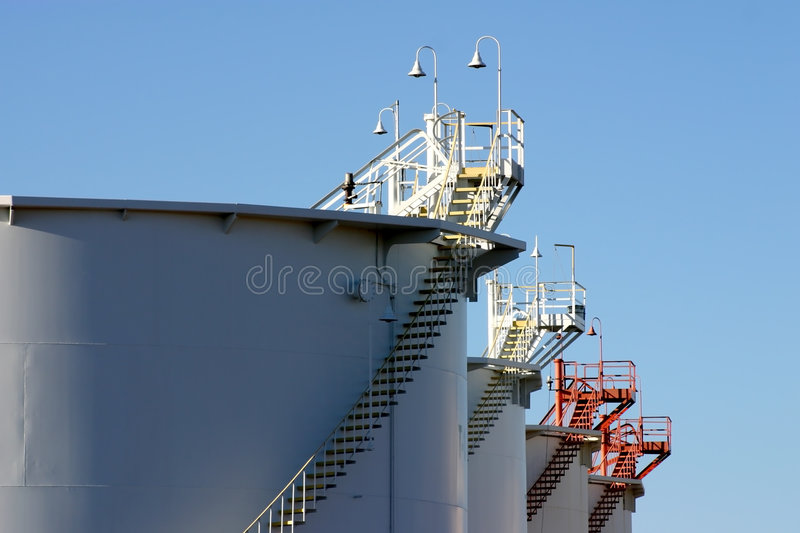 Petroleum Products Depot stock photography