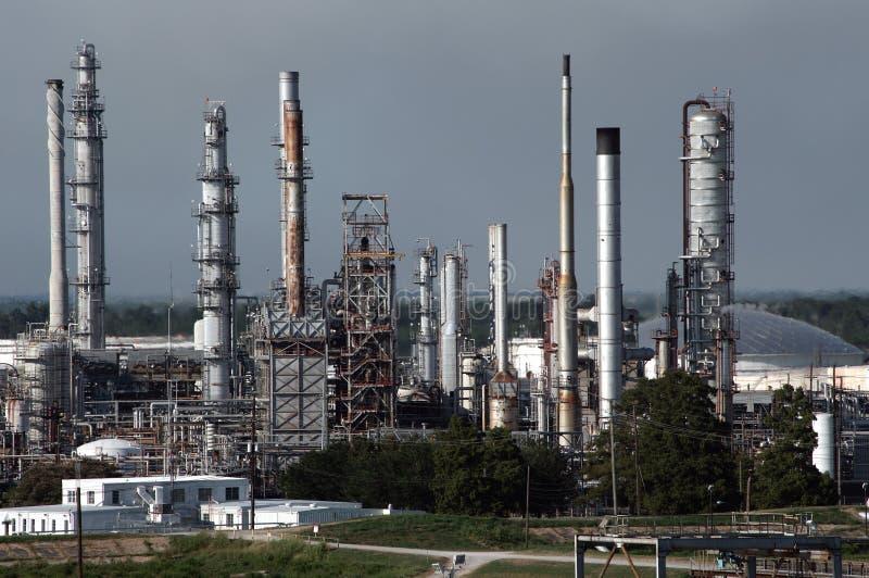 Petroleum Refinery stock image