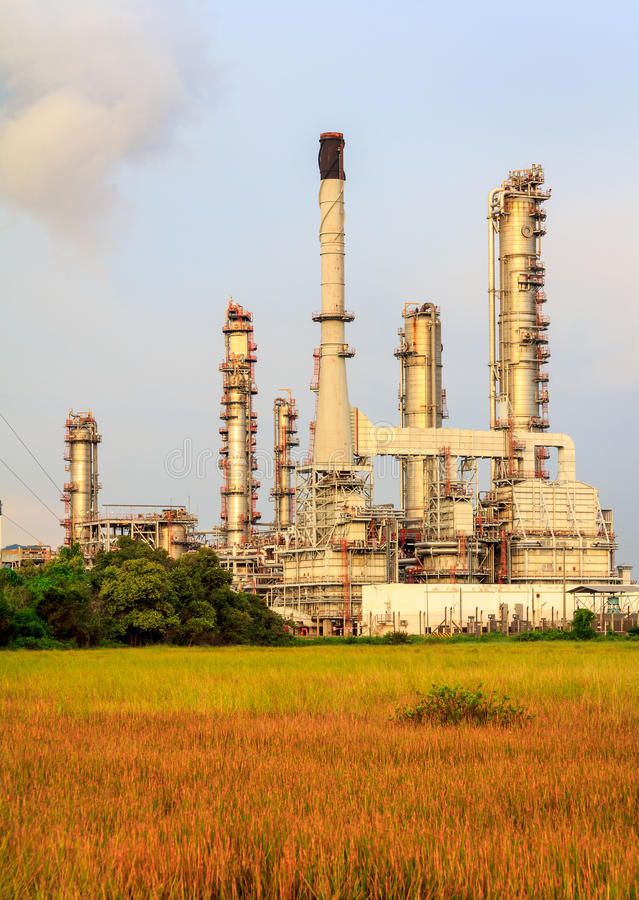 Download Petroleum Refinery stock image. Image of damage, chemical - 35580757