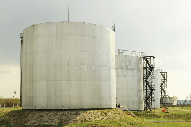 Petroleum Storage Depot Stock Image