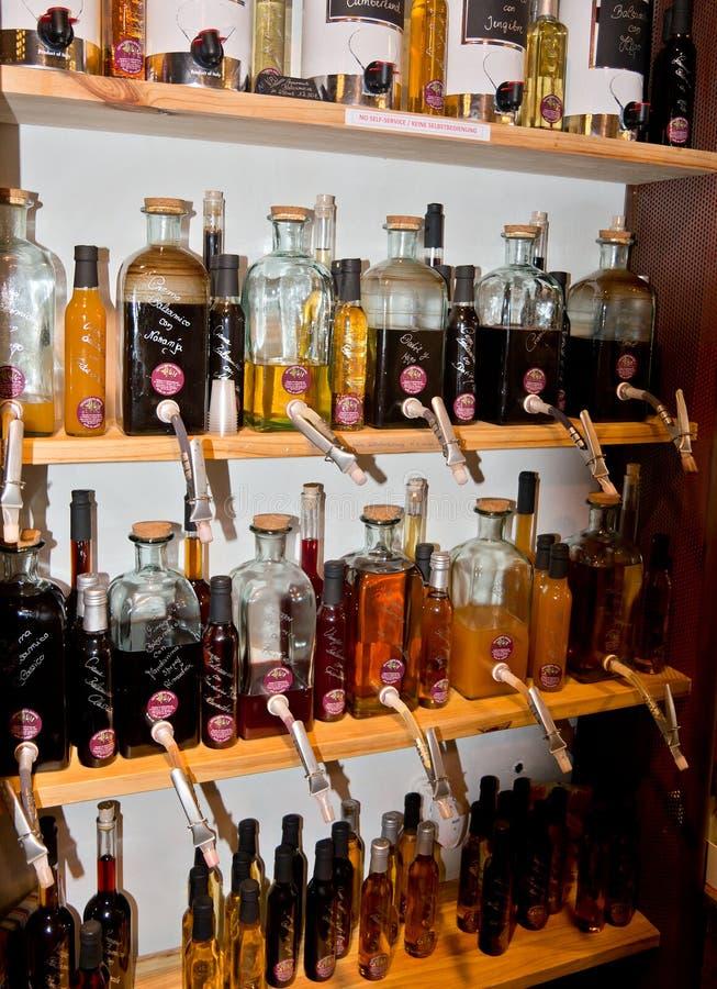 Petroli ed aceti di Mallorquin fotografie stock
