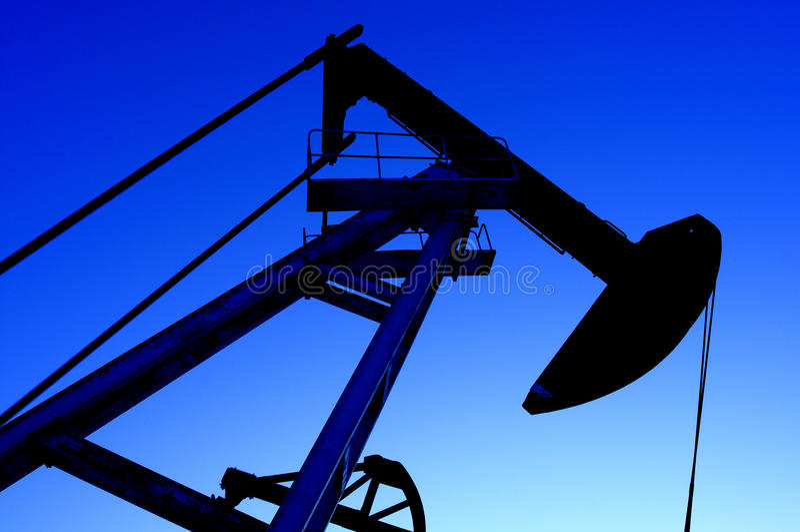Petrolio e gas fotografia stock