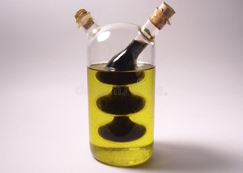 Petrolio Ed Aceto Fotografie Stock