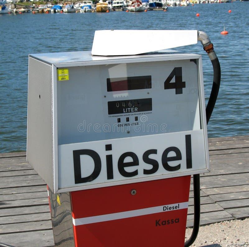 petrolpump arkivbild