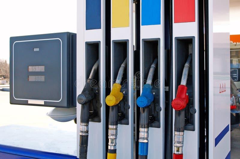 petrolpump arkivfoton