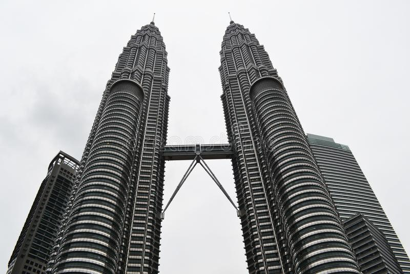Petrona-Türme lizenzfreie stockfotos