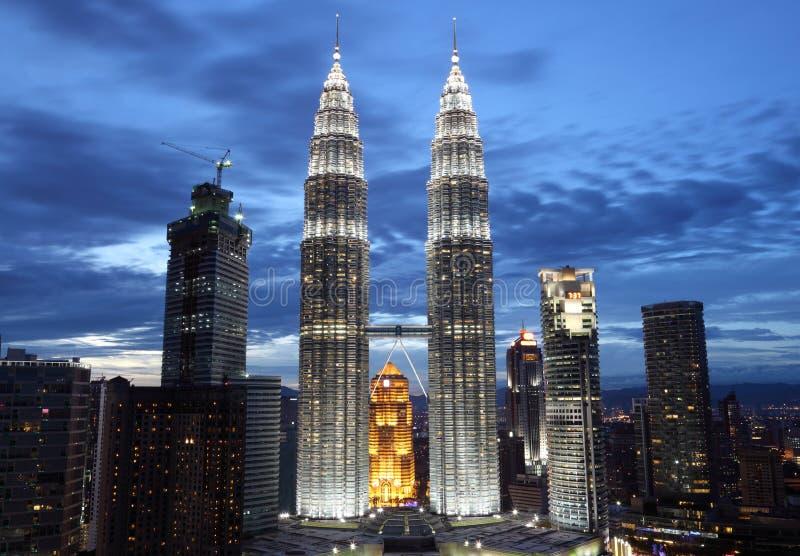 Petronas fotografia stock libera da diritti