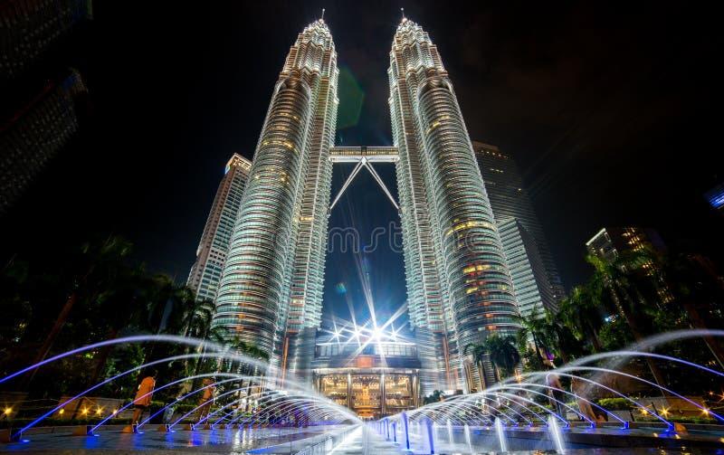 Башни Petronas в Куалае-Лумпур
