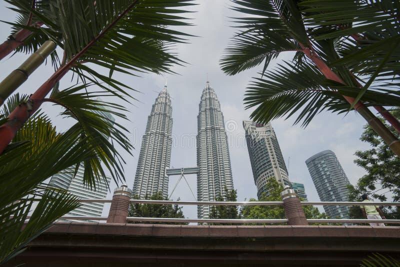 Petronas Góruje, Kuala Lumpur. obraz royalty free