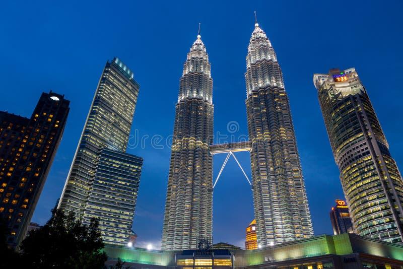 Petronas torn arkivbilder