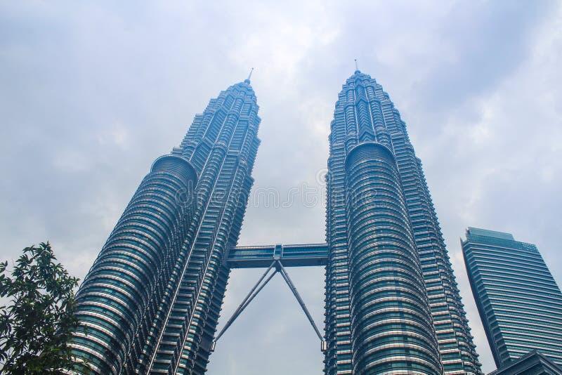 Petronas Towers kuala lumpur, Malaysia stock photos
