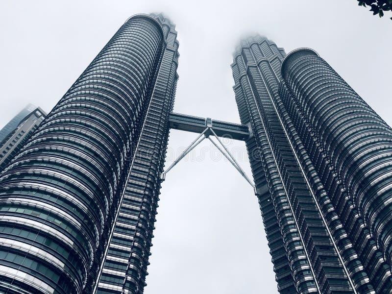 Petronas Towers royaltyfri fotografi