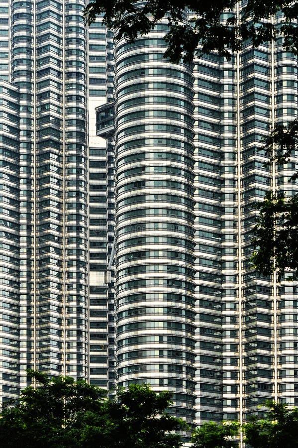 Petronas towers stock photos