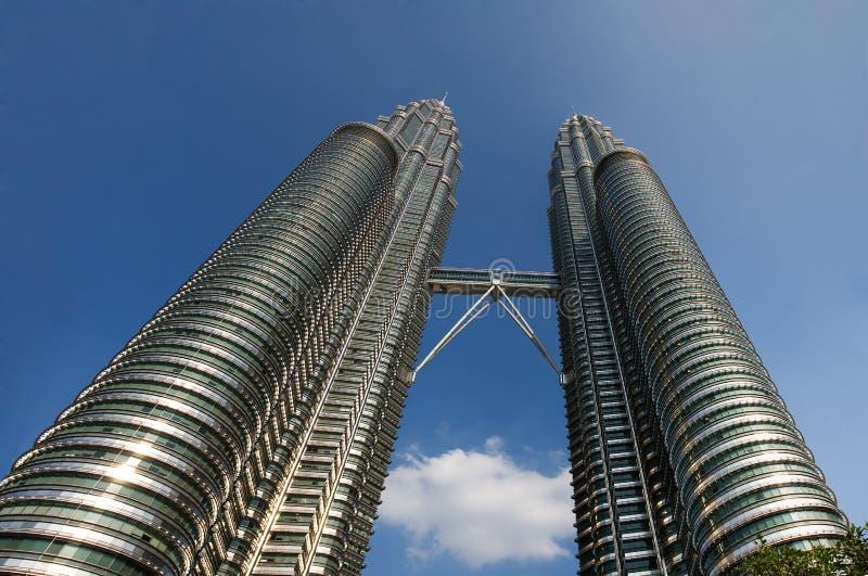 Download The Petronas Towers In Kuala Lumpur Stock Image - Image: 10268603